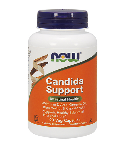 NOW Candida Support™ 90 Vcaps.