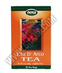 NOW Pau D'Arco Tea 30 Bags