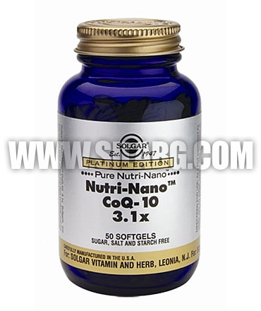 SOLGAR Nutri-Nano Co-Q10 / 50 Soft.