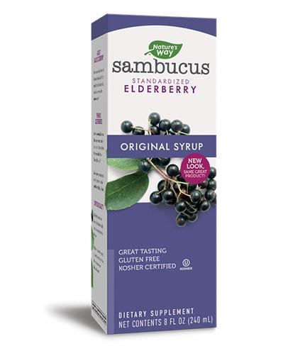 NATURES WAY Sambucus Original Syrop 120ml.