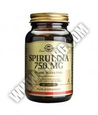 SOLGAR Spirulina 750 mg. / 100 Tabs.