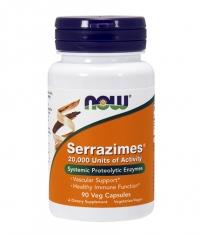 NOW Serrazimes ® 20,000 Units / 90 VCaps.
