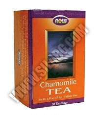 NOW Chamomile Tea / 30 Packs