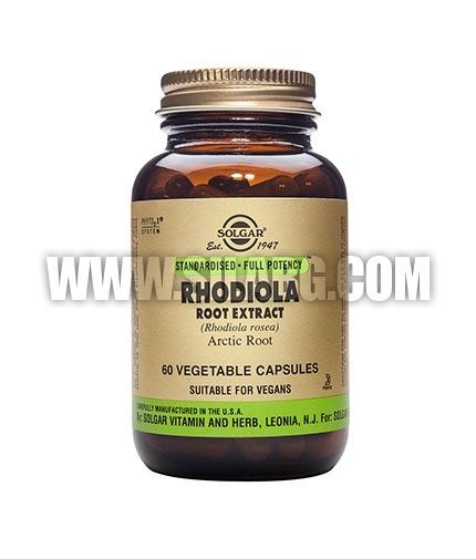 SOLGAR Rhodiola Root Extract, S.F.P. 60 Caps.