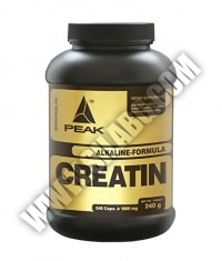 PEAK Creatine Alkalyn 240 Caps.