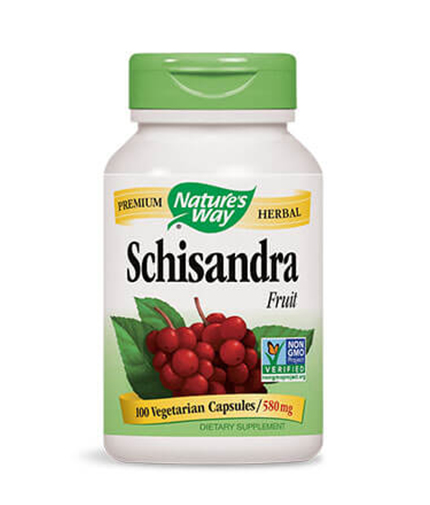 NATURES WAY Schizandra Fruit 100 Caps.