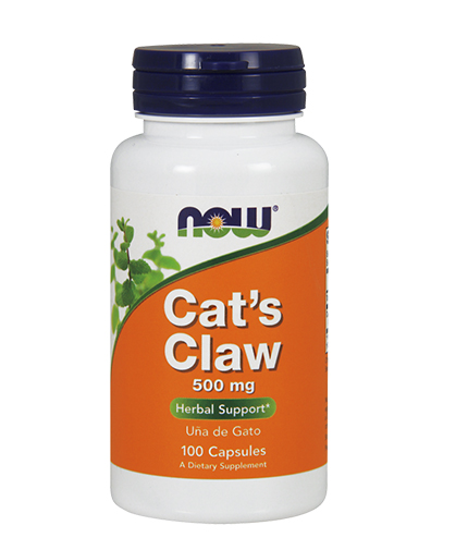 NOW Cats Claw 500mg. / 100 Caps.
