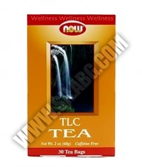 NOW Throat & Lung Care Tea 30 Bags