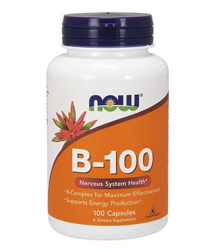 NOW Vitamin B-100 / 100 Caps.