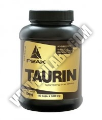 PEAK Taurin 120 Caps.