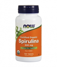 NOW Spirulina 500mg. / 100 Tabs.