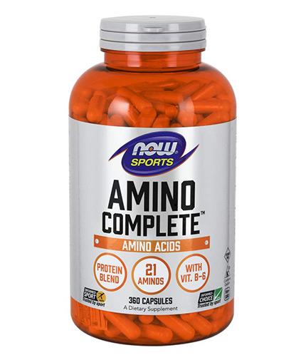 NOW Amino Complete™ 360 Caps.
