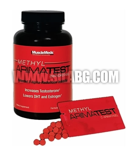 MUSCLEMEDS Methyl Arimatest 120 Caps. + 60 Tabs.