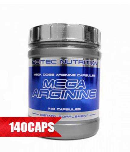 SCITEC Mega Arginine 140 Caps.