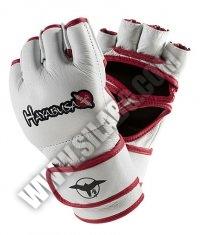 HAYABUSA FIGHTWEAR Pro MMA Gloves /White/