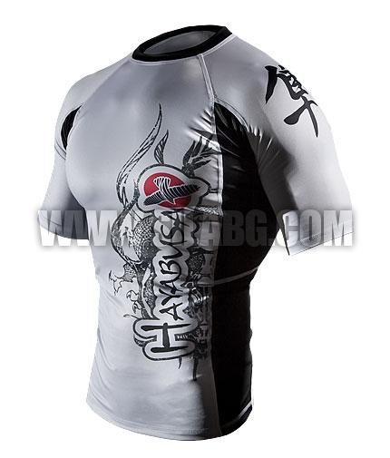 HAYABUSA FIGHTWEAR Mizuchi Rashguard S/S /White/