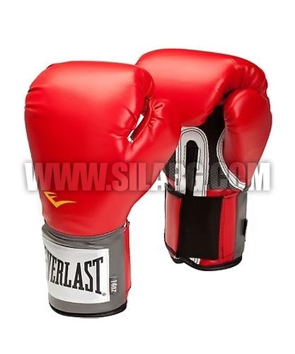 EVERLAST Pro Style Training Gloves /Red/