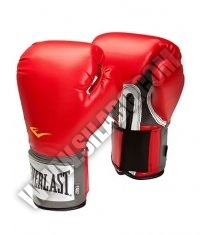 EVERLAST Pro Style Training Gloves /Red/