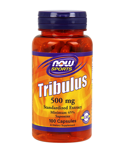 NOW Tribulus Terrestris 500 mg. / 100 Caps.