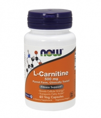 NOW L-Carnitine 500mg. / 60 VCaps.