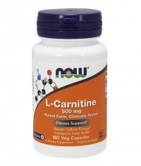 NOW L-Carnitine 500mg. / 180 VCaps.
