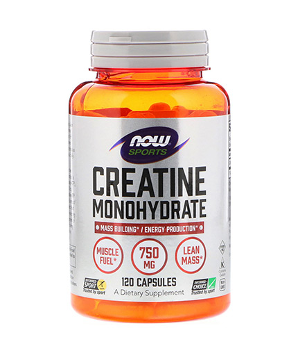 NOW Creatine Monohydrate 750mg. / 120 Caps.