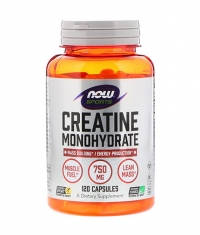 NOW Creatine Monohydrate 750mg. / 120 Caps.
