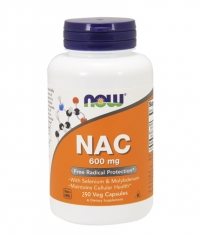 NOW NAC 600mg. / 250 Vcaps.