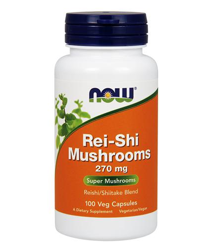 NOW Rei-Shi Mushrooms 270mg. / 100 Caps.