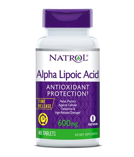 NATROL Alpha Lipoic Acid /Time Release/ 600 mg. / 45 Tabs.