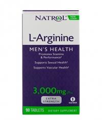 NATROL L-Arginine 3000 mg. / 90 Tabs.