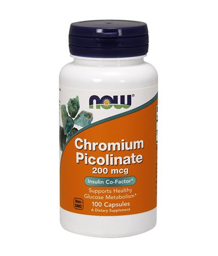 NOW Chromium Picolinate 200mcg. / 100 Caps.