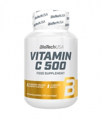 BIOTECH USA VITAMIN C 500 / 120 chewing tablets