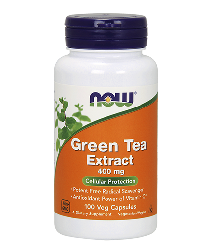 NOW Green Tea Extract 400mg. / 100 Caps.
