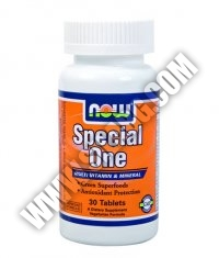 NOW Special One /Multiple with Green Superfoods/ 30 Tabs.