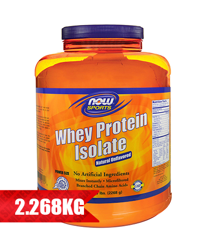 NOW Whey Protein Isolate /Flavoured/