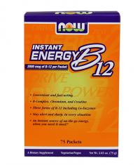 NOW Instant Energy B-12 / 75 Packs