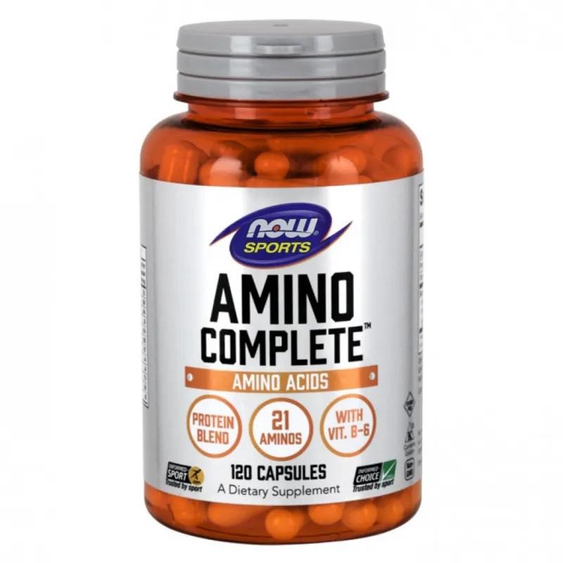 NOW Amino Complete™ 120 Caps.