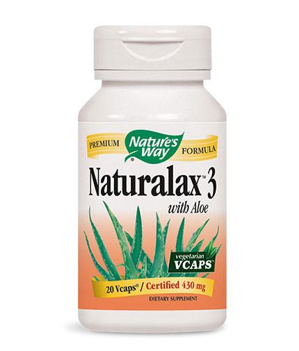 NATURES WAY NATURALAX 3 / 20 Caps.