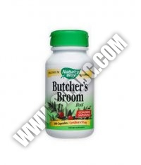 NATURES WAY Butcher's Broom Root 100 Caps.
