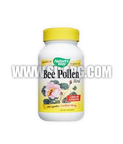NATURES WAY Bee Pollen Blend 180 Caps.