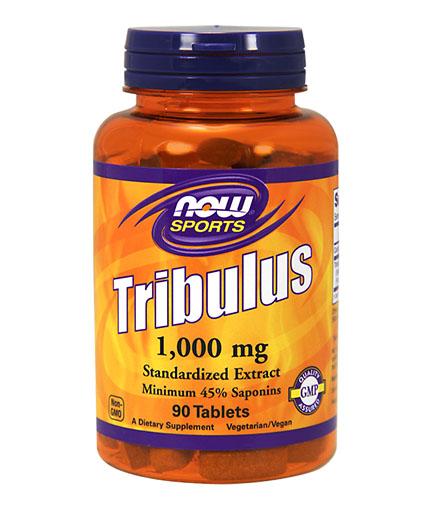 NOW Tribulus Terrestris 1000 mg. / 90 Tabs.