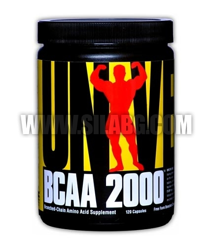 UNIVERSAL BCAA 2000 / 120 Caps.