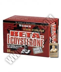 WEIDER Beta-Ecdysterone 84 Caps.