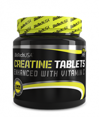 BIOTECH USA Creatine Tablets 200 Tabs.