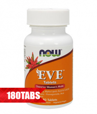 NOW Eve Women's Multiple Vitamin 180 Tabs.