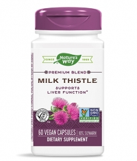 NATURES WAY Milk Thistle Standardized 60 Caps.
