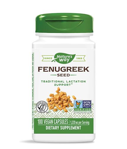 NATURES WAY Fenugreek Seed 100 Caps.