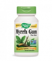 NATURES WAY Myrrh Gum 100 Caps.