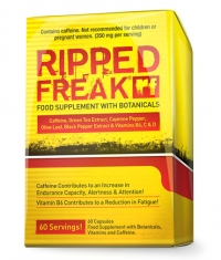 PHARMA FREAK Ripped Freak / 60 Caps.